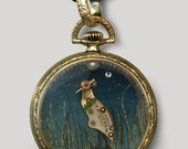 Crane pendant