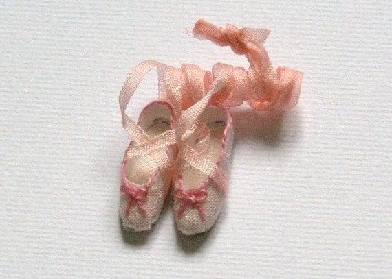 Miniature ballet shoes - Ballerine - light pink