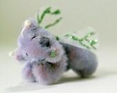 OOAK Miniature Artist Fairy Bear