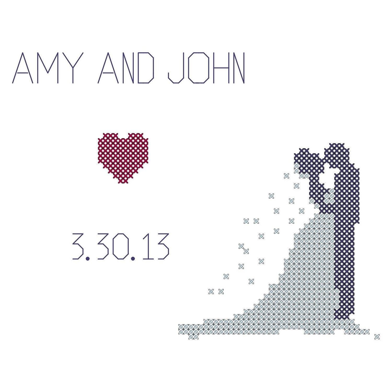 Wedding - Online Cross Stitch Patterns