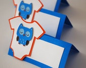 Owl Food Tags Place Holder Set of 12 By Your Little Cupcake