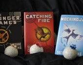 Hunger Games ornaments -set of 3