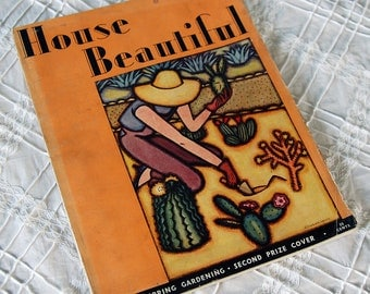 House Beautiful Magazine, March 1931