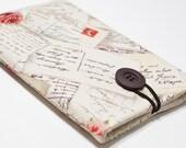 Nook Tablet Cover, Nook Color Cover, Nook Tablet Case, Nook Color Case, Nook Cover - French Post