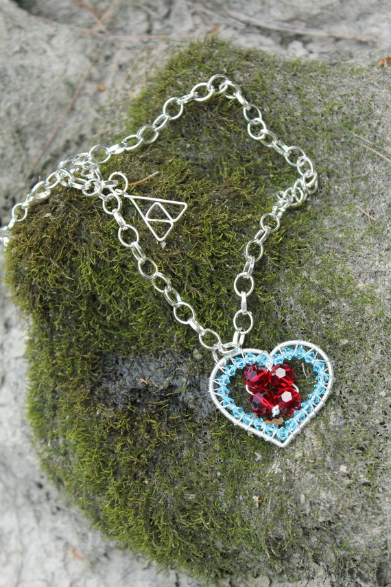 Legend of Zelda® Classic Crystal Heart Container Necklace