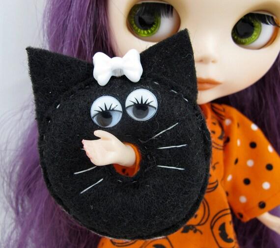 Halloween Donutzie Black Cat