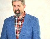 Vintage Flannel Shirt Mens XL. Red Blue Plaid. Vintage L.L.Bean Eveteam