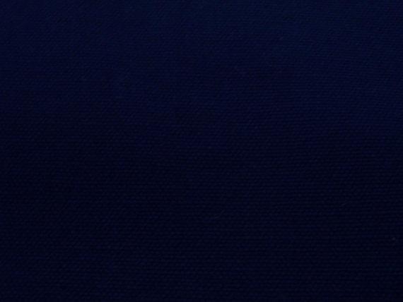 Very dark blue wide medium weighted canvas thick fat