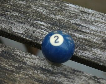 Number 2 Small Pool Ball.