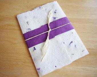 Handmade Seeded Paper Wedding Invitation - Seeds of Love