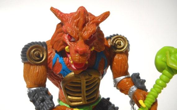 TMNT Action Figure: Rahzar Wolfman Complete