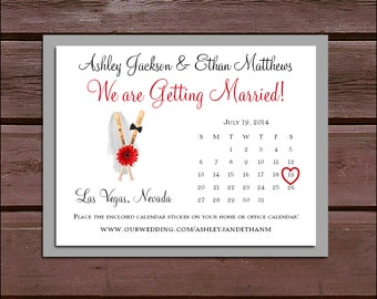 150 Baseball Wedding Save the Date Cards. Invitations come with FREE Calendar Stickers