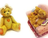 PIF Vintage Teddy Bear Figurines, Collectible