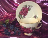 Tea cup and Saucer set Royal Vale Bone China Made in England