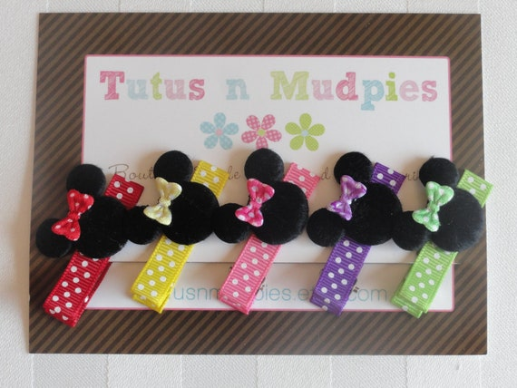 Gift Pack of bows - Minnie Mouse