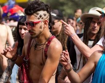 Men's Festival Harness Necklace Body Chain