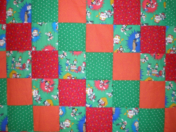 FINAL MARKDOWN Animaniacs Patchwork Quilt