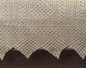 1970s Lace Throw/Blanket VINTAGE CROCHET PATTERN- Boho/Hygge/Shabby Chic Throw & Cushions, Instant Pdf Pattern from GrannyTakesATrip 0147
