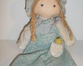 Vintage 1974 Original Holly Hobbie Doll by Knickerbocker