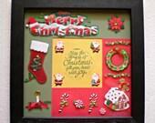 Custom Photo Frame - Christmas