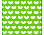CELLO Bags Green Hearts 5 x 8 Cellophane Gift Bag 100 Total
