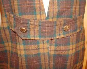 Mod coat vest