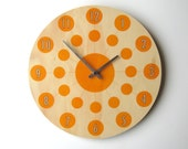 """Objectify Solar Wall Clock - Medium Size With Numerals and Silent """"Sweep"""" Movement"""