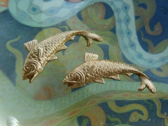 Ornamental Koi Carp Fish  (4  pc)