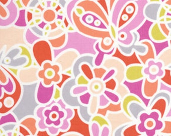 36100  Erin McMorris Weekends Kaleidiscope in Pink color- 1 yard
