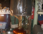 2 ANTIQUE FOIL LAMPS-Beautiful  Pickup in Pa