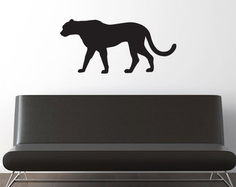 Cheetah Wall Decal - Large Vinyl Sticker  -