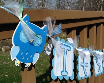 It's A Boy baby shower banner