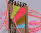 Mini ART Journal, Sketchbook, Blank, Travel, Scrapbook