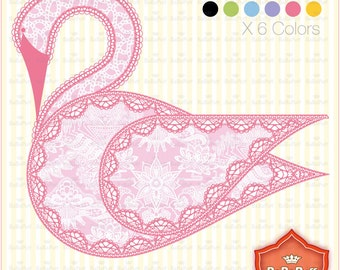Instant Downloads, Swan Clip Clip Art. Personal and Small Commercial Use. BP 0675