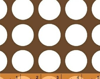 SALE - Multi Dot - Brown Medium Dot by Jackie Shapiro from Windham