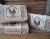 CINNAMON MINT SCRUB Goat's Milk Soap Superfatted with Grapeseed
