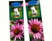 Personalized Bookmark With Your Own Pet - for Family or Friends, Party Favor or Just for Fun