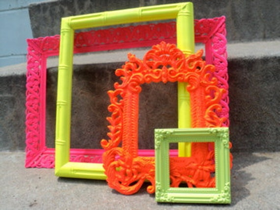Bright and Shiny Picture Frame Set Ornate