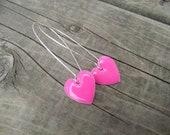 Wear Your Heart Earrings - Pink