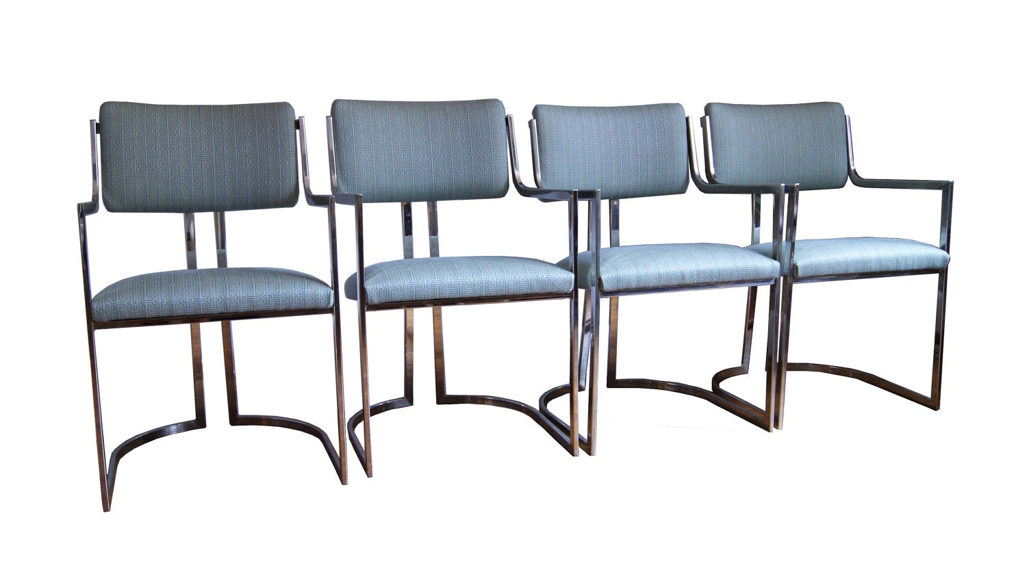 Reserved For Dgiraffeboy Vintage Chrome Dining Chairs