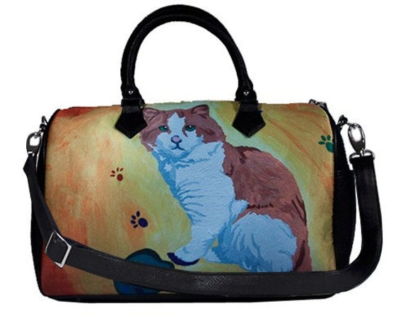 Squishy Cat With Butter : Cat Vegan Leather Handbag Butter Soft Yes Salvador Really