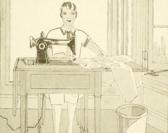 1920s vintage sewing book The New Butterick Dressmaker