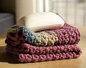 100% Organic Cotton Wash Cloth