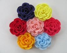 Rose Tutorial TIFFANY ROSE No Sew Felt Rose Pattern Flower Pattern Hairclip Headband Brooch Pin Accessory PDF ePattern eBook Tutorial How To