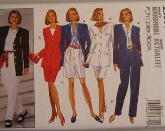 OOP Butterick Womens Sewing Pattern 6657  size   6-8-10   Uncut