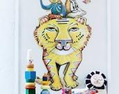 Tiger Poster, 50x70cm