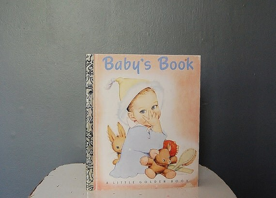 Golden Book Baby Vintage Collectibles