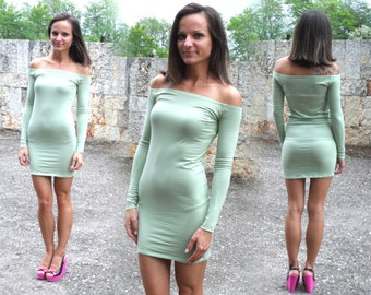 Sexy Super Tight Stretchy Mini Party Strapless Dress