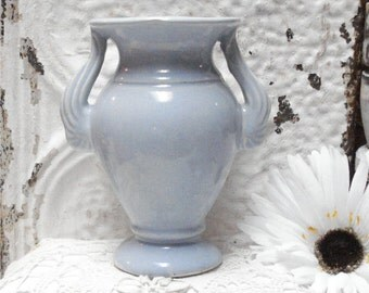Niloak Blue Vase Double Handle