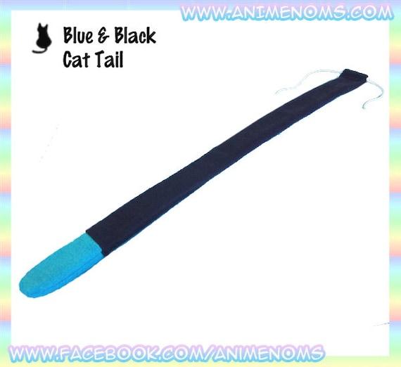 Nero e la coda del gatto blu 22 centimetri di di animenoms for La coda del gatto